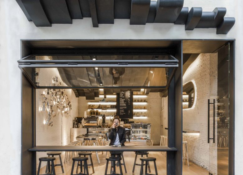 Fumi coffee bar in shanghai