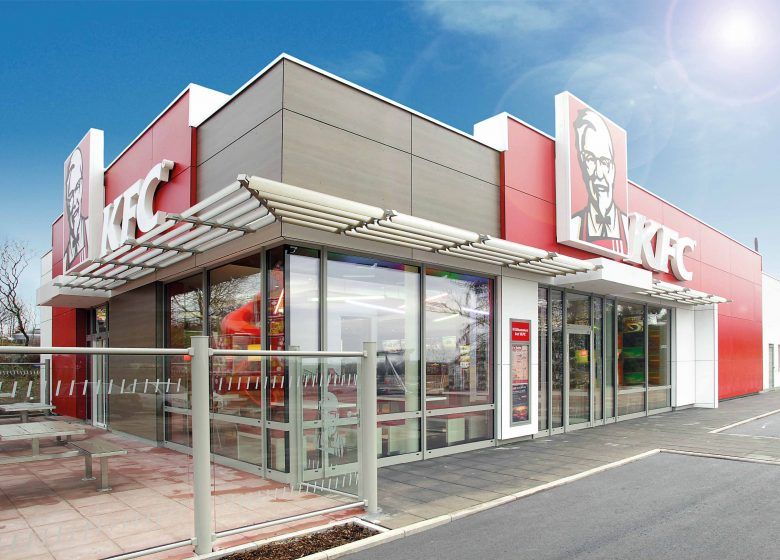 Fast Food Restaurant Kentucky Fried Chicken in Schweitenkirchen