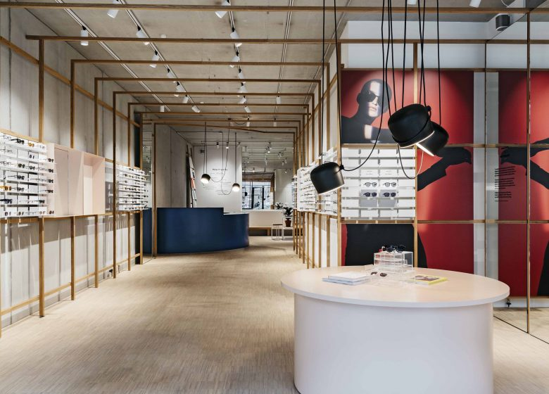 Ace and Tate Store für Designerbrillen in Berlin
