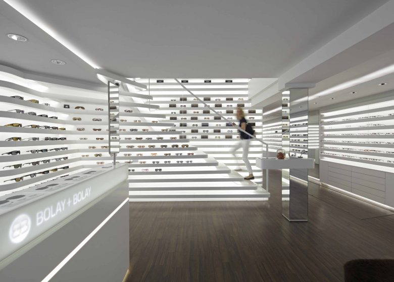 modern store for optician