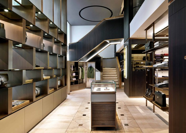 Brioni store in Frankfurt, Germany