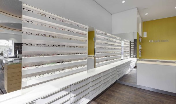 modern optician Hasler in Göppingen