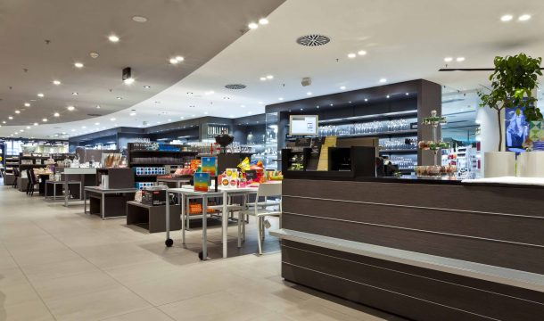 Jelmoli - the House of brands store in Zurich
