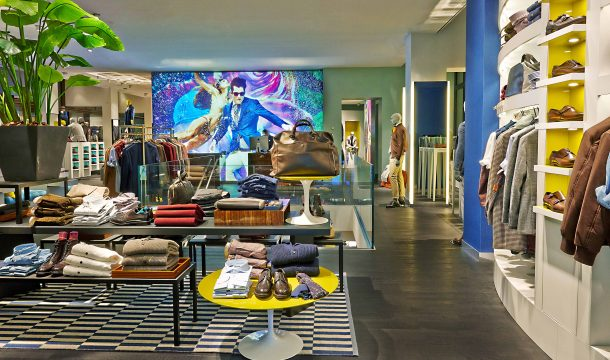 Suitsupply fashion store in Zurich