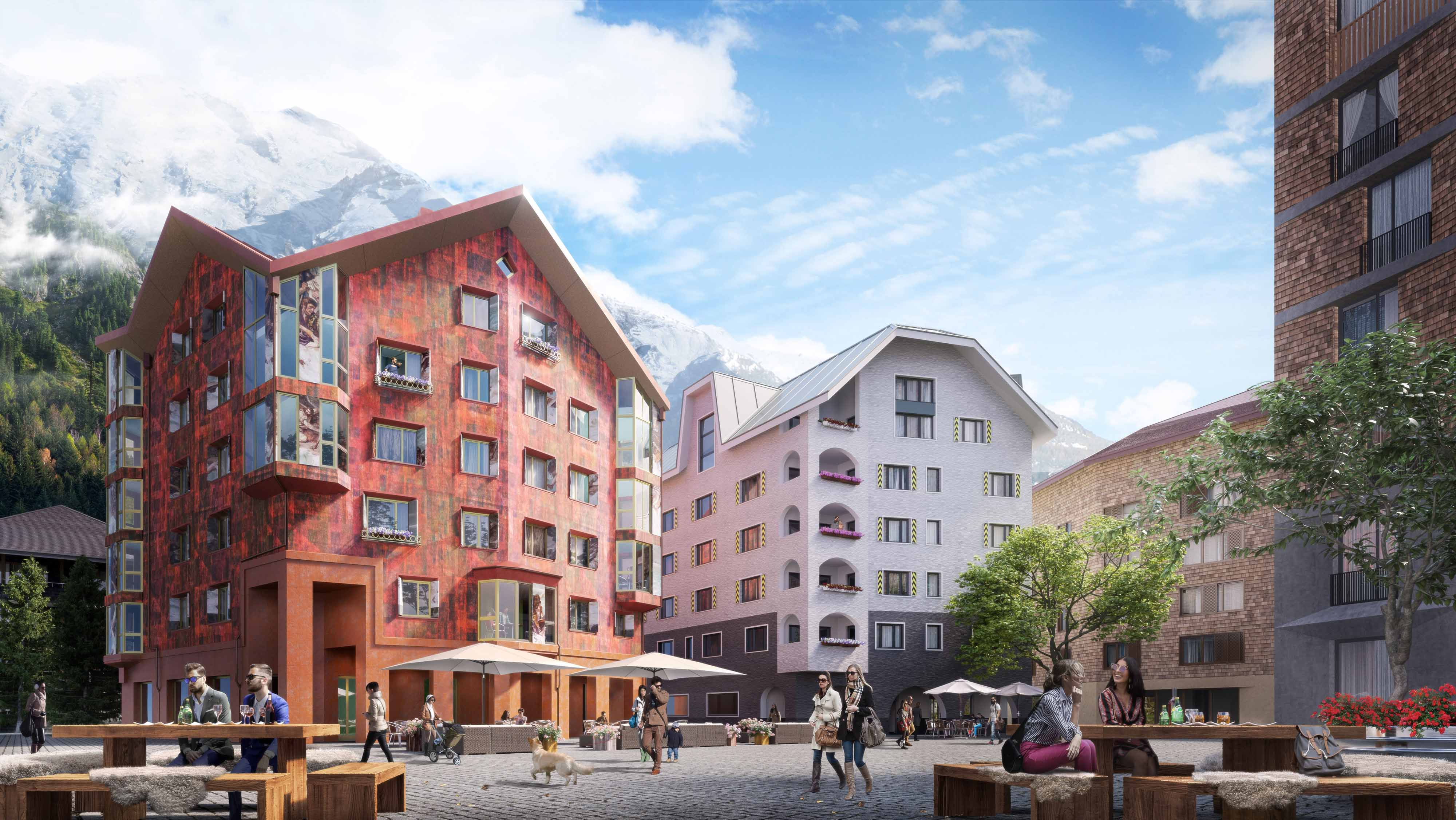 Exclusive holiday homes in switzerland house alpenrose for Swiss homes