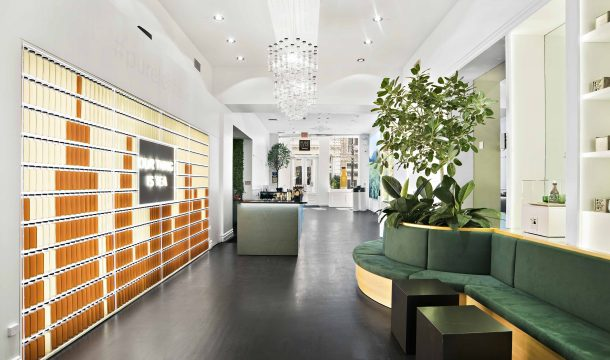 The Pure Leaf pop-up store in NY - realised by Ganter