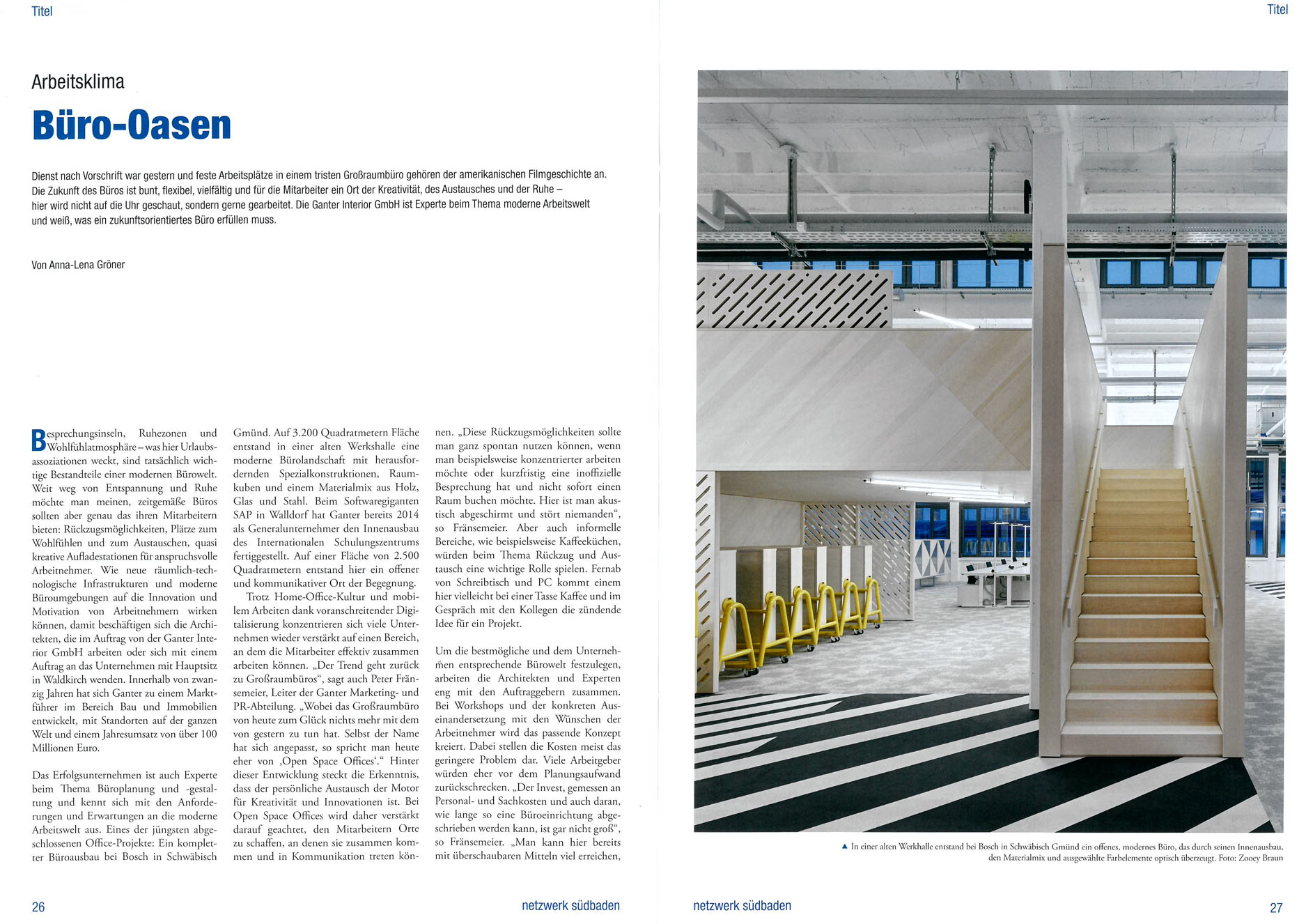 A discussion with Netzwerk Südbaden about the future of workspaces ...
