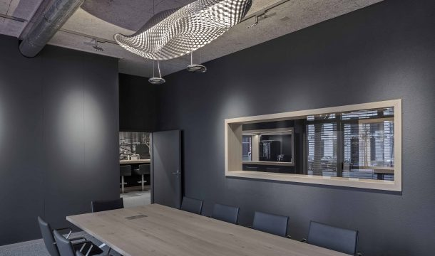 conference room of the architects Detail Design in Zurich