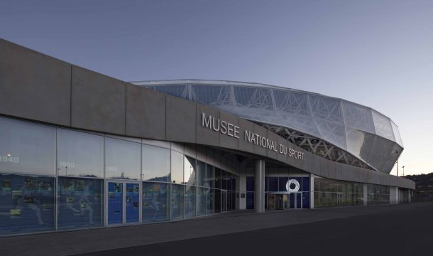 outside view of the Museum Musse du Sport in Nice