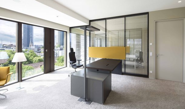 office in the office building Solo West in Frankfurt