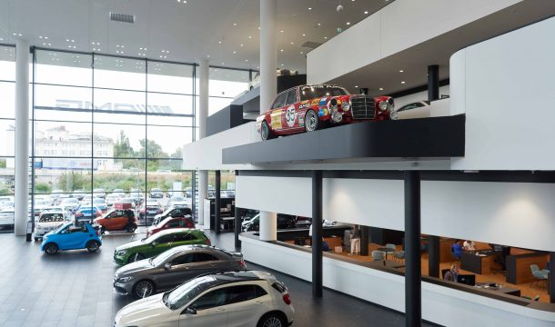 Mercedes Benz Autohaus in Offenbach