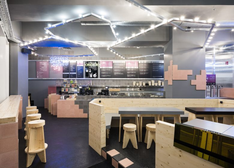 fast-casual restaurant beets&roots in Hamburg am Gaensemarkt 43